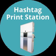 Hashtag print station